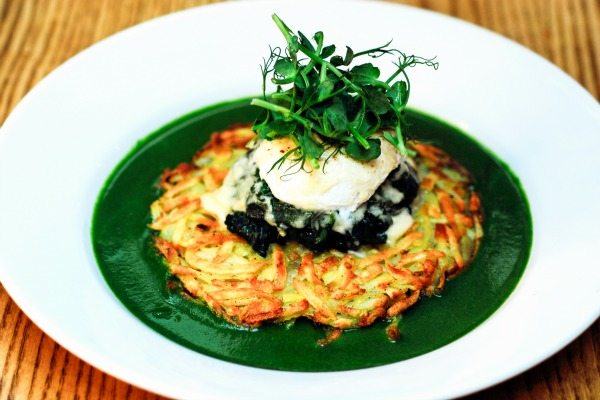 Rosti at Terre a Terre, Brighton's Vegetarian fine dining restaurant