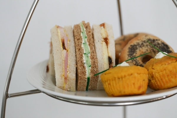 The Jetty afternoon tea sandwiches