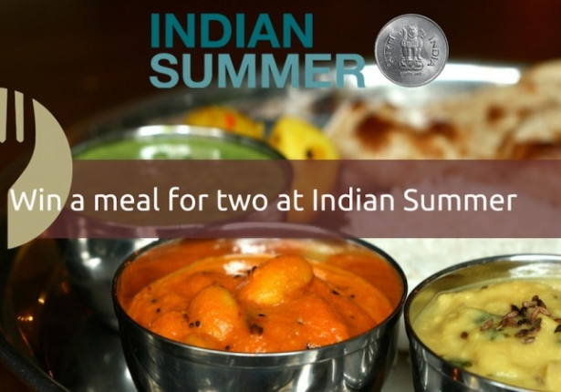 Win a Meal For Two at Indian Summer
