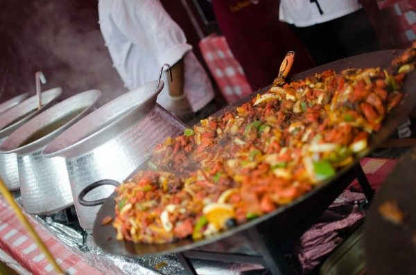 Street food at the Brighton Foodies Festival