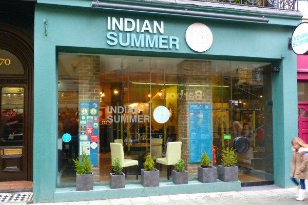 Indian Summer, modern Indian restaurant, Brighton
