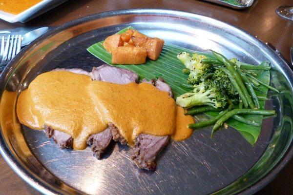 Lamb Tandoori Roast at Indian Summer, Brighton