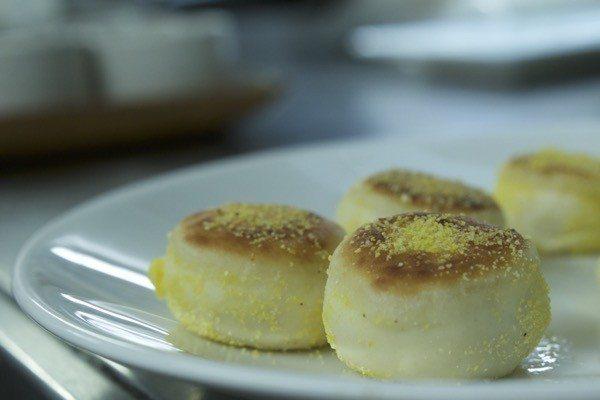Terre à Terre, Vegetarian Restaurant, East Street, Brighton, how to make English muffins, Matty Bowling