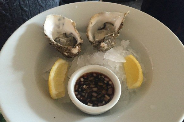 Oysters at Riddle and Finns, Brighton Restaurant