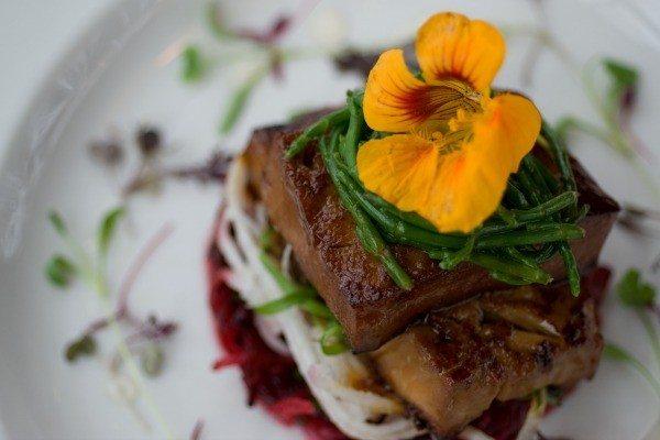 Dish at Rootkandi - vegetarian restaurant Brighton