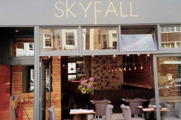 skyfall, hove, church road, brighton, restaurant, live music