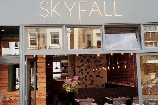 SkyFall Restaurant - skyfall, hove, church road, brighton, restaurant, live music