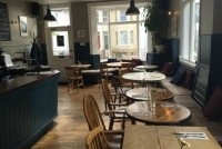 Bar and dining area of the Independent Pub, Hanover