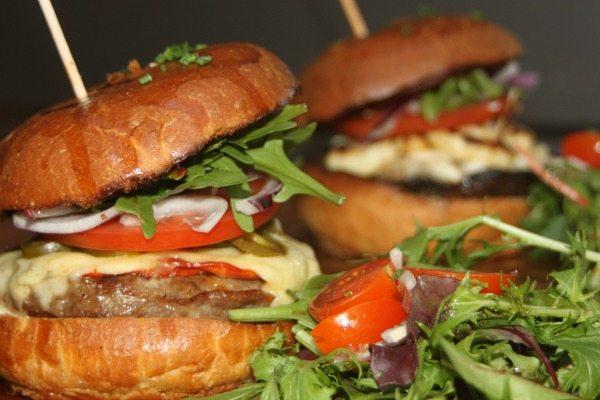 Burger Close up Moksha