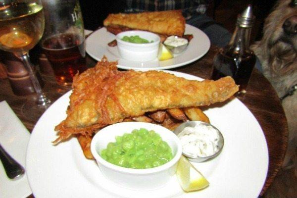 Fish and Chips at Rainbow Inn