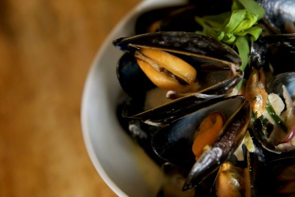 Mussels at Morris and Jacques, Brighton