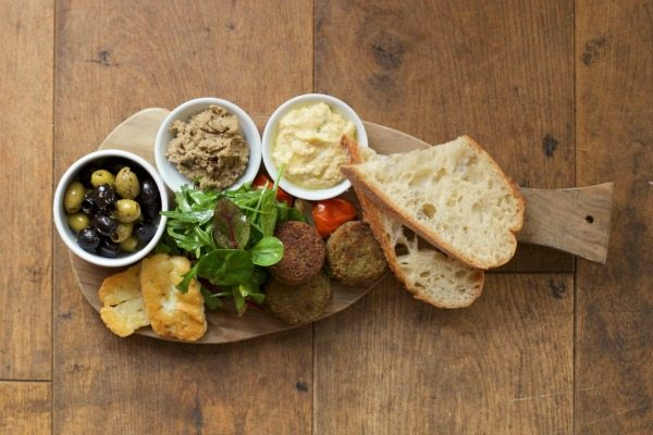 Sharing platter at Morris and Jacques Kemptown