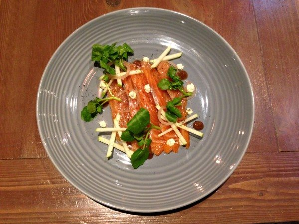 No 32 Duke Street Salmon Dish