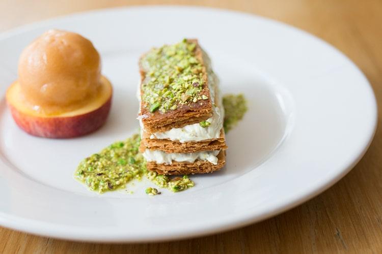 Semolina restaurant and cafe, Brighton, dessert