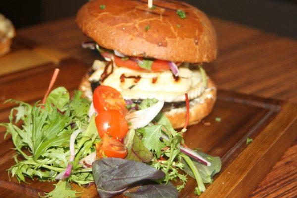 Vegetarian Burger Moksha