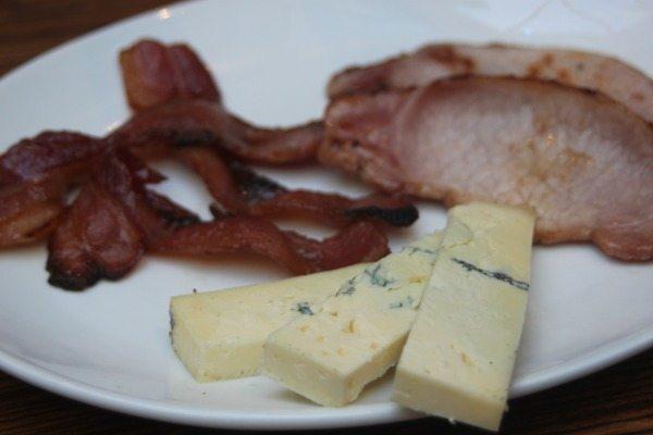 blue cheese and bacon at moksha