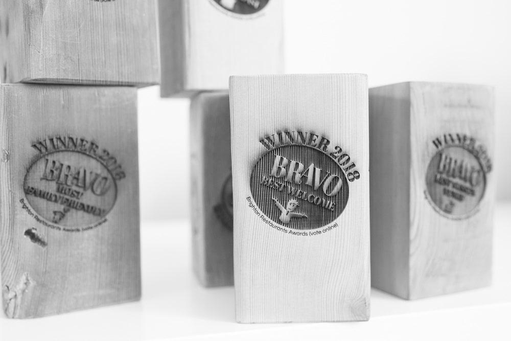 Winners BRAVO18 RESTAURANTS BRIGHTON - BRAVO awards