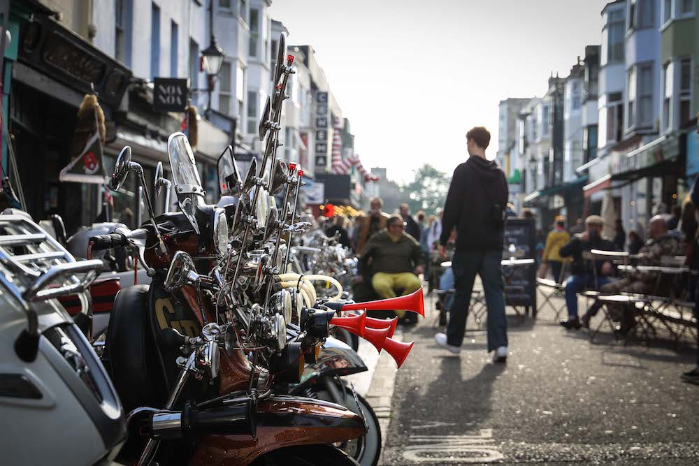 Brighton Mod Scooters