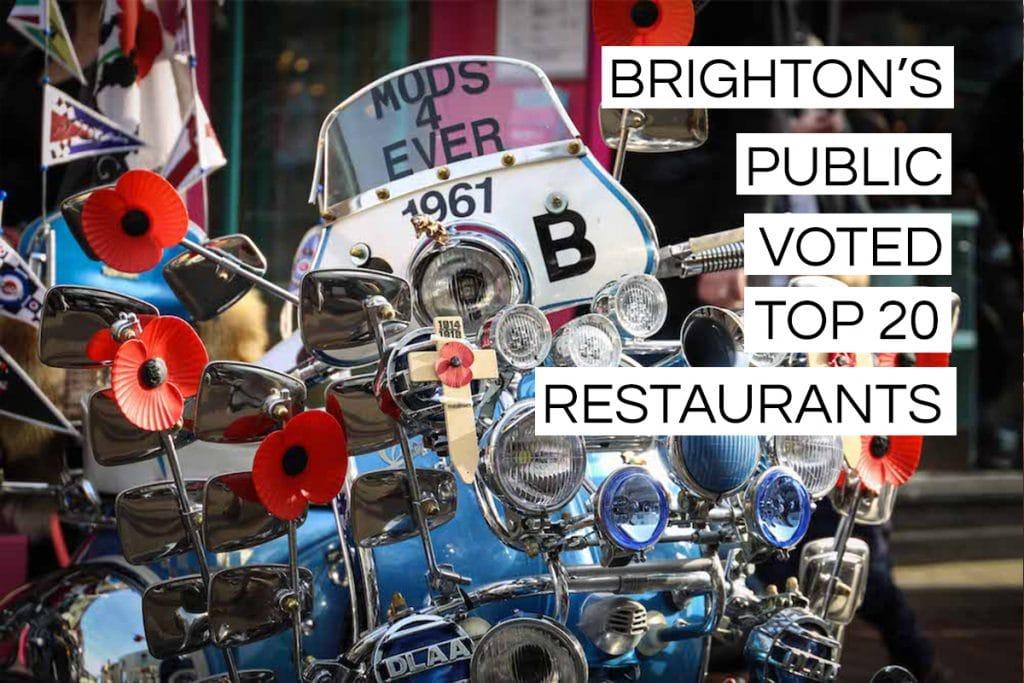 Brighton top twenty voted public restaurants