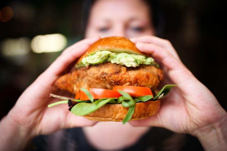 Chicken burger - Burgers Brighton