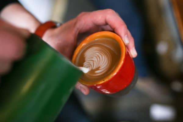 Latte Art - Cafe Plenty Brighton