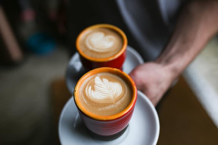 Serving coffee - Restaurants Brighton, Business Meetings Brighton