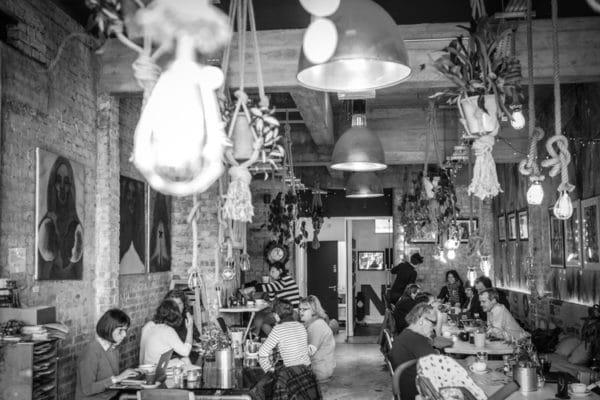 Lunch in Brighton - Interior at Cafe Plenty