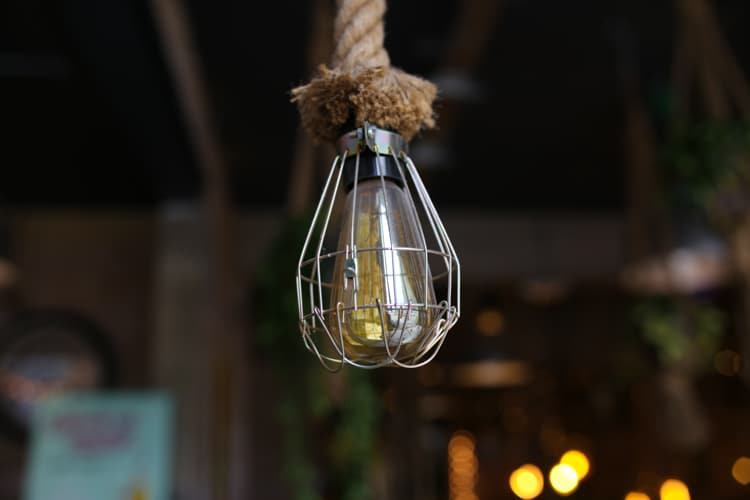 Light at Cafe Plenty