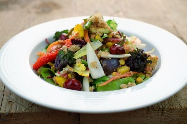 Salad at Cafe Plenty. Preston Circus