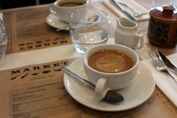 Coffee At Market