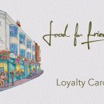 Loyalty card from food for friends