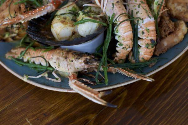 Dave Mothersill, The Salt Room Restaurant, The Josper Oven, Seafood Surf Board