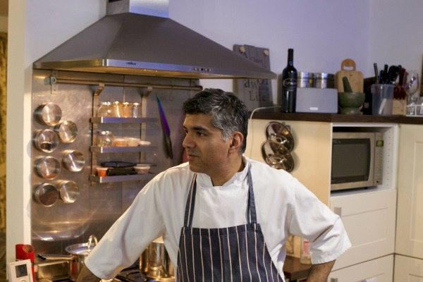 Minesh, chef and founder of Indian Summer