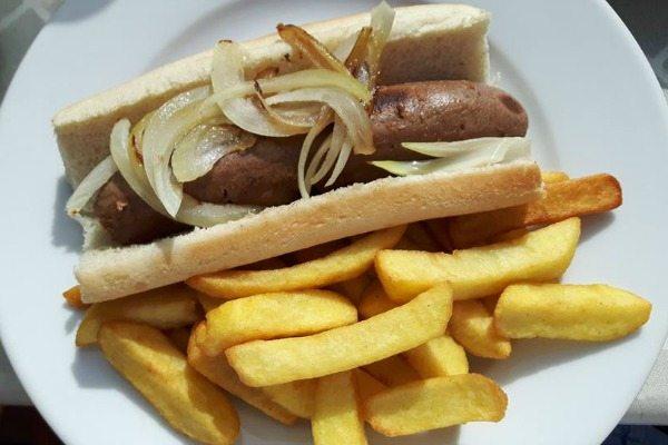Loving Hut Hotdog