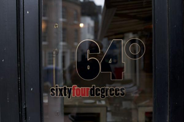64 Degrees Brighton, Restaurant in Brighton, Sam Smith