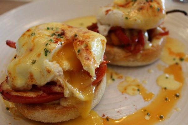 Spicy Spanish Benny at Market Close up