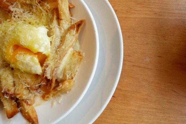 Chips brunch at Terre Terre Brighton