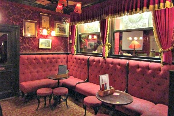 The Cricketers Interior (1)
