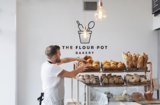 Main page for The Flour Pot Bakery, Brighton, Sydney Street