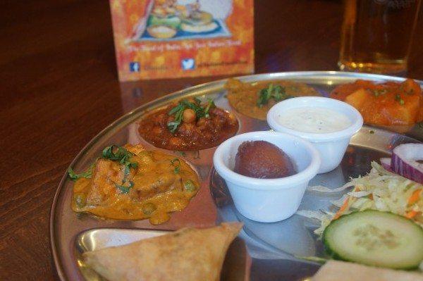 Veg Thali Close up Chaula's