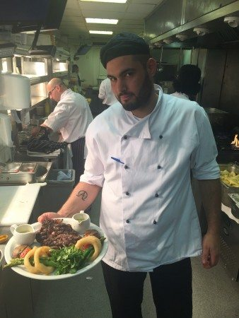 Sous Chef Apostolos Tanakas Browns Brasserie