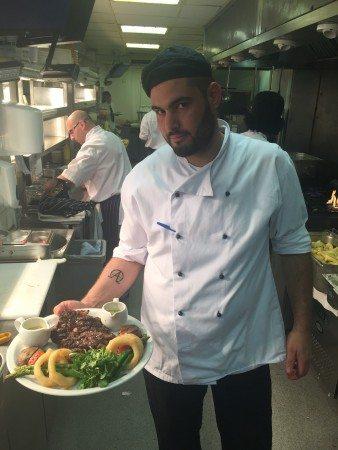 Sous Chef Apostolos Tanakas Browns Brasserie