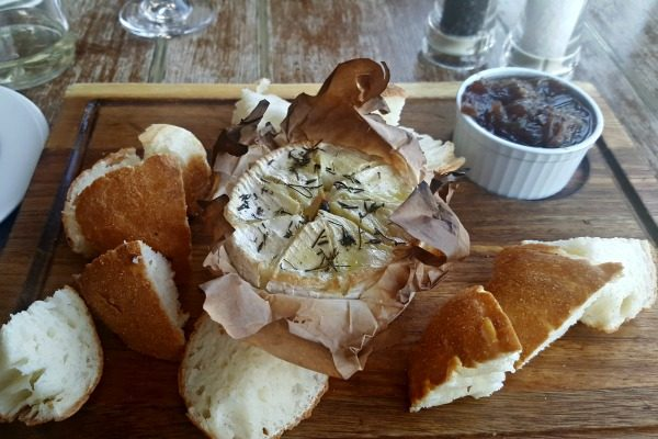 Baked Camembert at The Schooner
