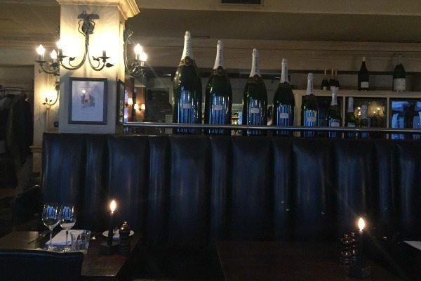 interior of Bistro du vin, Brighton