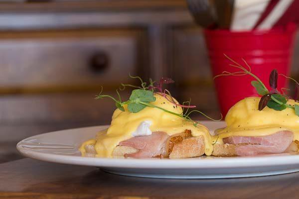 Eggs Benedict - The Cherry Tree Cafe Brighton, Brighton Marina
