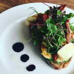 Cherry Tree Food Halloumi on Toast