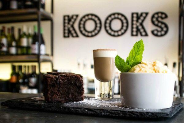 Dessert at Kooks Restaurant