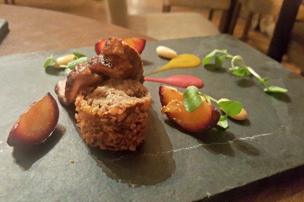 Duck and plums a pelham house restaurant