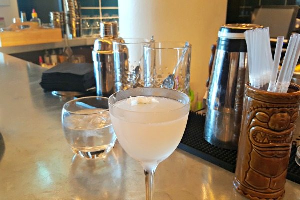 Gin Cocktail at The Salt Room