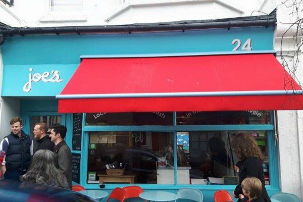 Joe's Cafe Exterior